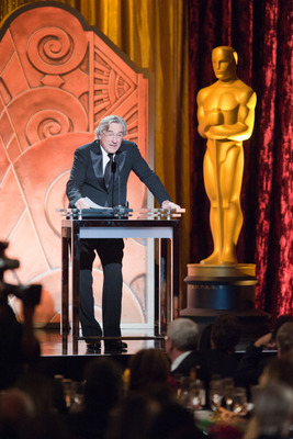 Two-time Oscar-winning actor Robert DeNiro speaks as part of the award presentation to Irving G. Thalberg Memorial Award recipient Francis Ford Coppola during the 2010 Governors Awards in the Grand Ballroom at Hollywood &amp; Highland in Hollywood, CA, Saturday, November 13.